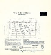 View Ridge Homes, King County 1945 Vols 1 and 2